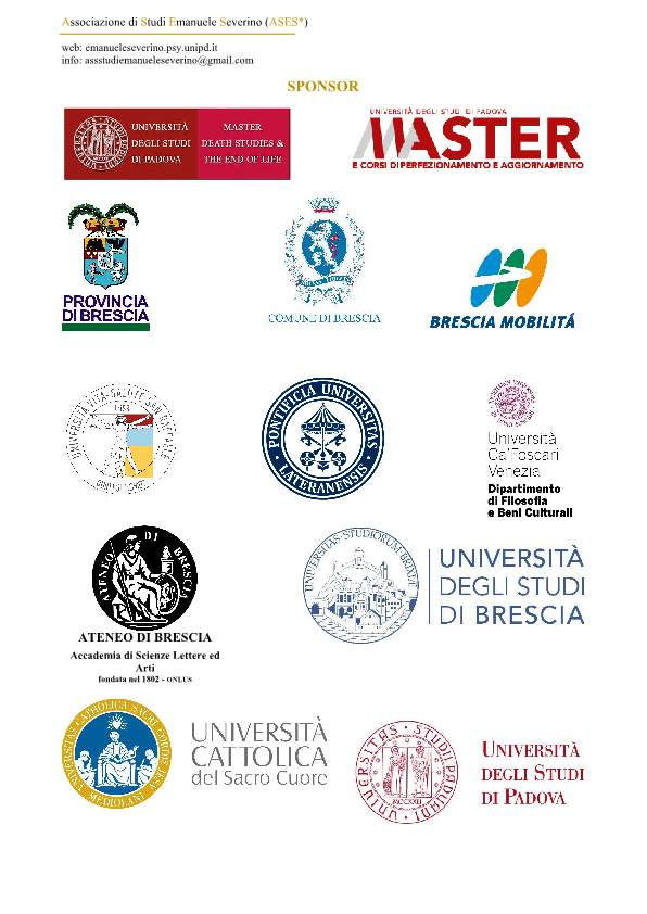 Programma congresso All'alba dell'eternitaÌ-p09